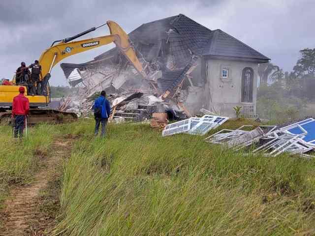 Illegal demolition