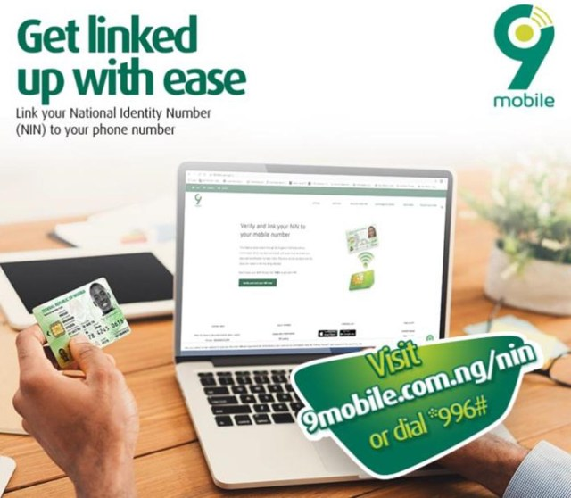 Link your NIN on 9mobile