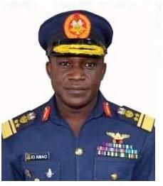 Chief of Air Staff, Air Vice Marshal IO Amao