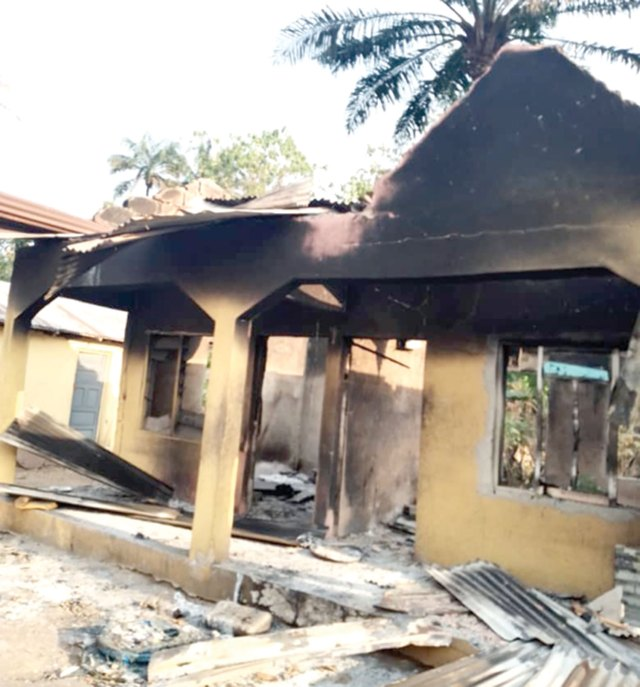 Things Fall Apart in Enugu Community: Many displaced, houses razed as Oruku boils