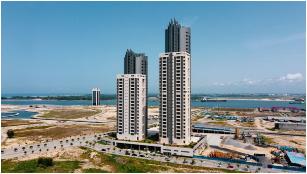 Eko Atlantic City, Real estate, Smart cities