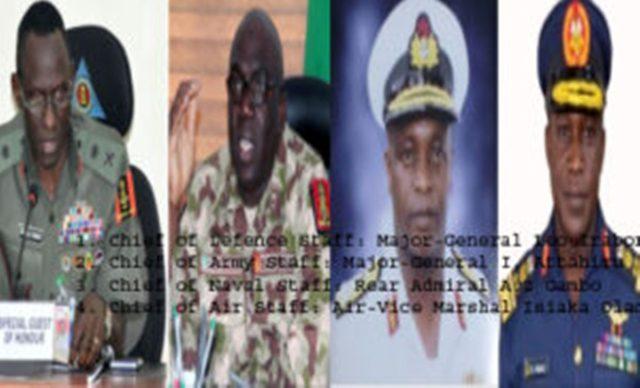 Senate screens new service chiefs