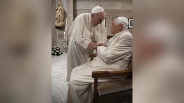 Pope Francis,, Pope Benedict, vaccine