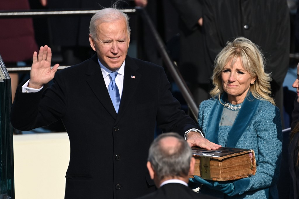 Breaking: Biden sworn in as 46th US president