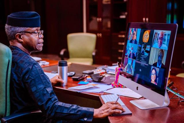 Nigerians laud Osinbajo on promotion of tech opportunities for youths