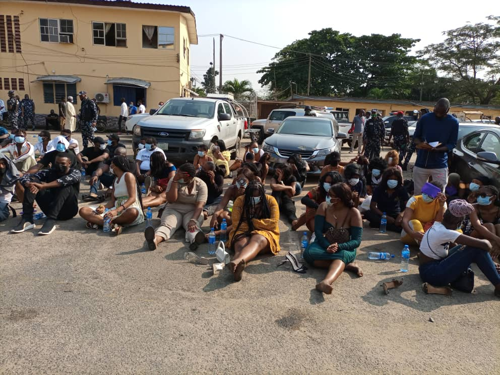COVID-19: Military, Police personnel, strippers among 243 persons arrested  in Lagos clubs - Vanguard News
