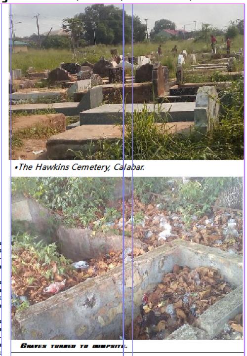 HAWKINS CEMETERY: Strange findings in C'River graveyard where the living, dead co-habit