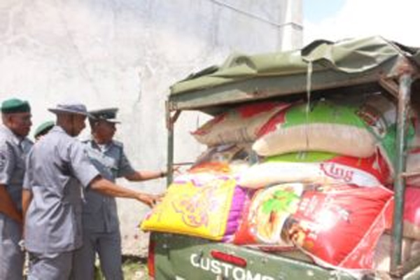 Customs intercepts N788m contraband in Seme