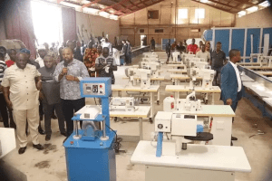 Don't go abroad for security boots, Enyimba shoe factory is world class ― Ikpeazu