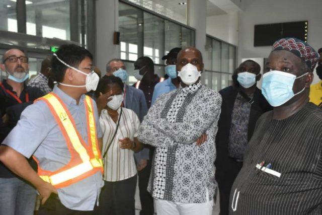 Amaechi inspects Apapa Port to ascertain Lagos-Ibadan rail completion