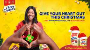 """Consumers applaud Three Crowns forits """"Give Your Heart Out"""" campaign"""