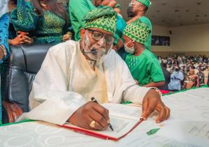 Insecurity: Allow states to secure its space ― Akeredolu