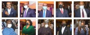 PHOTO NEWS: Bank executives at Vanguard's CBN/Bankers' committee economy summit