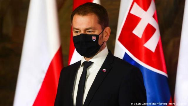 Slovakian prime minister resigns, swaps roles with finance minister