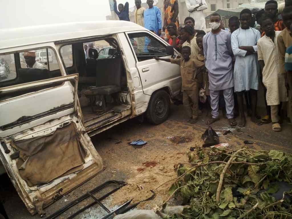 Ghastly Accident kills one, injure eight others in Kano