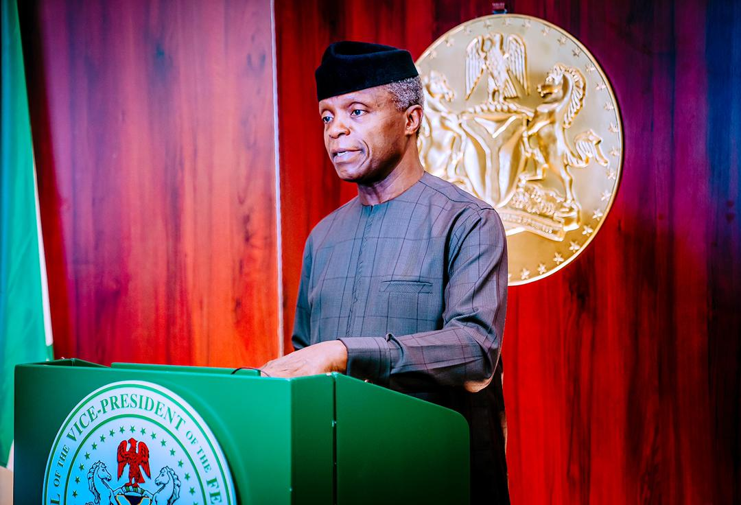 Osinbajo to NIPSS: We know about think-tanks, what we need now is  'do-tanks' - Vanguard News