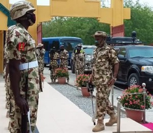 Assessing insurgency: Defence Minister, CDS, Service Chiefs storm Maiduguri