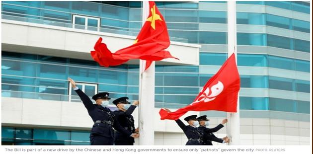 China debilita la democracia en las elecciones de Hong Kong;  El estatus semiautónomo ya no existe