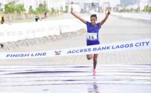 Ethiopia's Meseret Dinke wins female category of 2021 Access Bank Lagos City Marathon