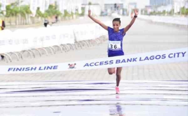 Ethiopia's Meseret Dinke wins female category of 2021 Access Bank Lagos City Marathon