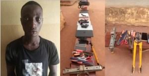 Lagos police arrests Aiye confraternity leader for killing rival leader