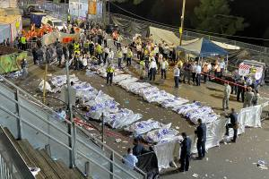 At least 45 dead in stampede at Israeli religious festival