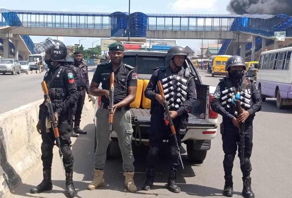 Normalcy returned to Ile-Epo after Police, motorcyclists clashed in Lagos