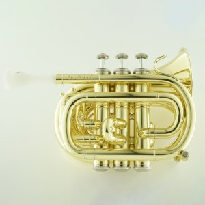 carolbrass cpt-1000 mini pocket trumpet vanguard orchestral