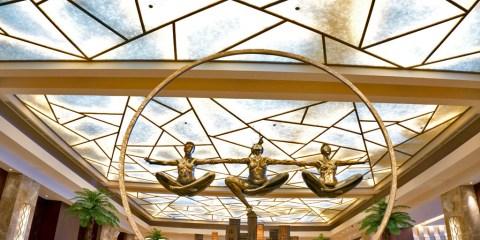 THE CRIMSON HOTEL – FILINVEST CITY, MANILA – PHILIPPINES - Cool interior design