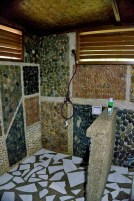 LAS CABANAS RESORT – PALAWAN, PHILIPPINES - The shower without cockroaches