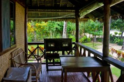 LAS CABANAS RESORT – PALAWAN, PHILIPPINES - The relaxed balcony