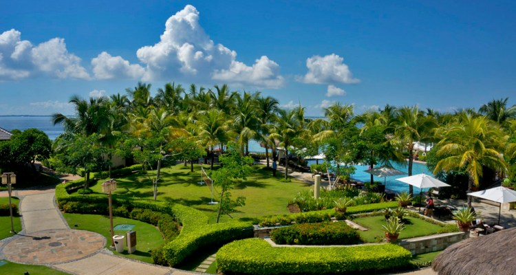THE CRIMSON RESORT & SPA – MACTAN, CEBU – PHILIPPINES - The garden and pool area