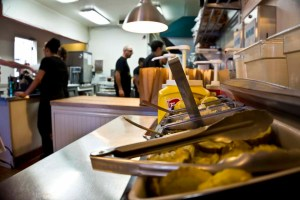 TRUE BURGER – OAKLAND, CA – USA - Prepare your own burger