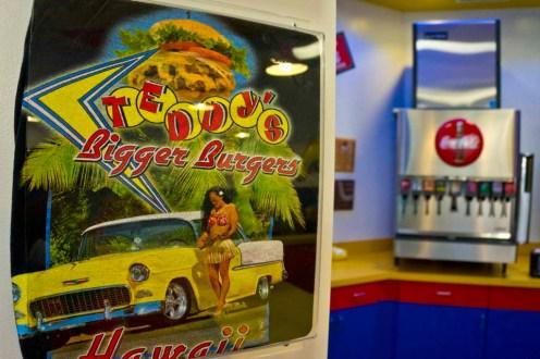 Teddy's Bigger Burgers - Hawaii - 50s theme