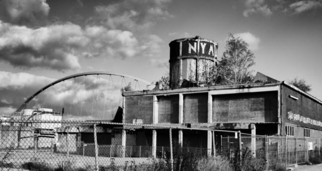 Tot het werk in uitvoering hoort ook de watertoren van de Nyma te Nijmegen.