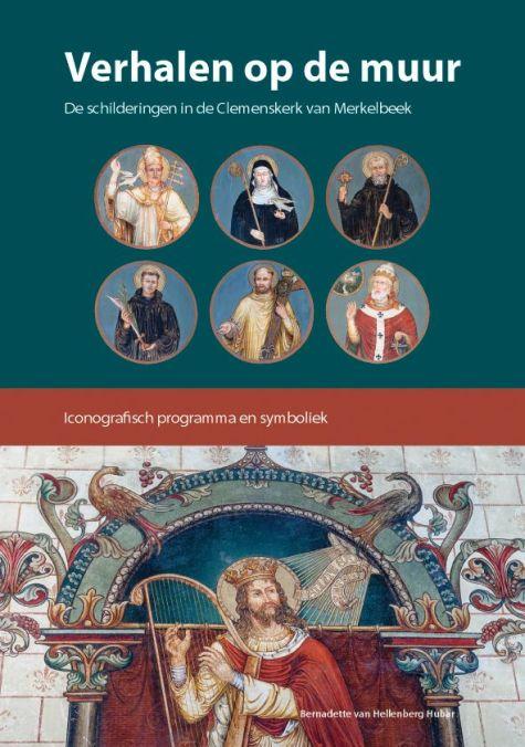 Omslag van mijn boek 'Verhalen op de muur' (2014), Clemenskerk te Merkelbeek.
