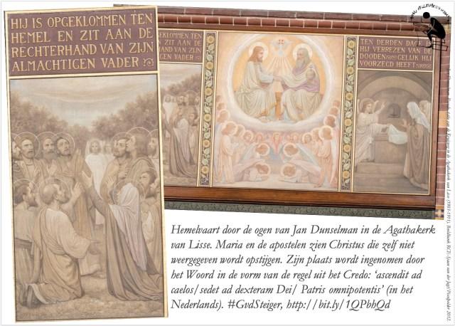 Jan Dunselman, Pseudo-statie van de Kruisweg in de Agathakerk van Lisse (1903-1911). Beeldbank RCE-Sjaan van der Jagt/Pixelpolder 2012.