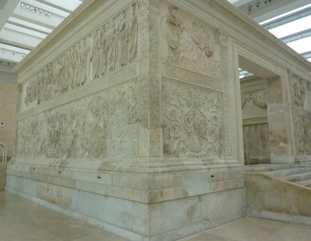 Cyclus Rome 3: Ara pacis Augustae. Foto bvhh.nu 2015.