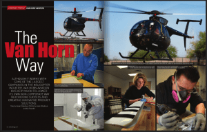 The Van Horn Way article in Vertical April/May 2013 issue