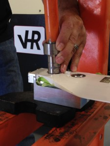 VHR Personnel Installing Bearings
