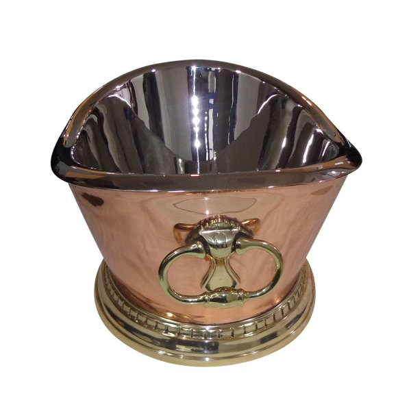 Beverage Tub Style Copper Sink
