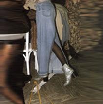 MARTIN MARGIELA LONG DENIM SKIRT, 1993
