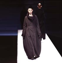 YOHJI YAMAMOTO STRIPED OVERSIZED COAT, 1996