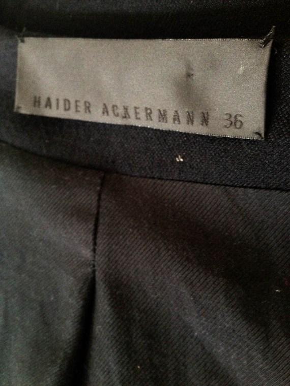 Haider Ackermann spring 2011 runway jacket logo