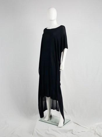Maison Martin Margiela 1 black square maxi dress