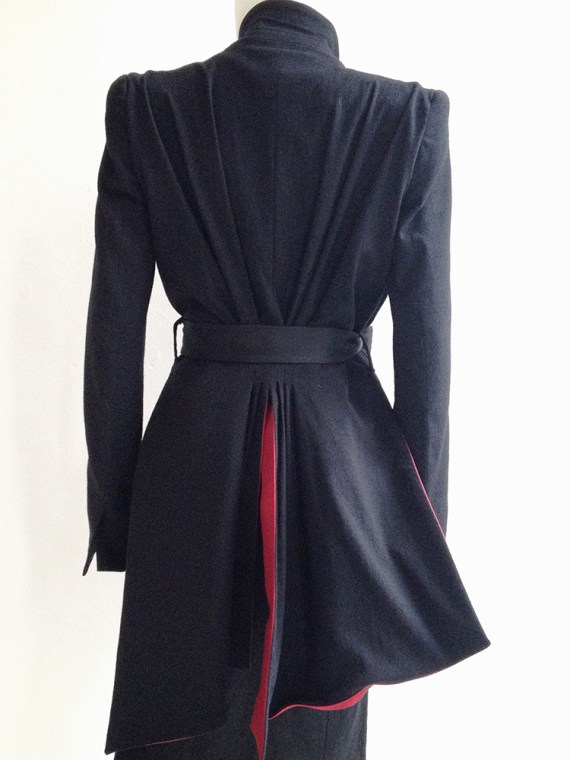 vintage Haider Ackermann black spring 2011 runway jacket