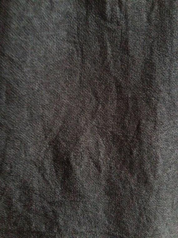 second hand Issey Miyake Cauliflower black dress with sheer stripes
