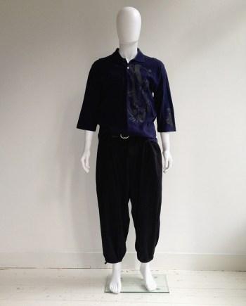 Yohji Yamamoto pour Homme black harem trousersYohji Yamamoto pour Homme black harem trousers — spring 2006