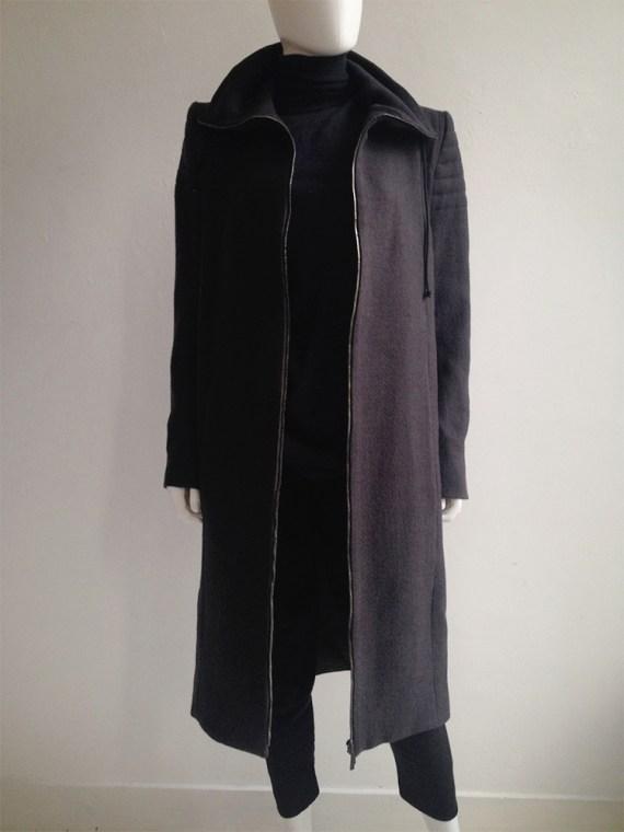 Haider Ackermann purple long coat fall 2012 8657