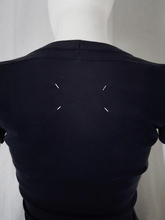 Maison Martin Margiela black flat t-shirt spring 1999 _130201(0)